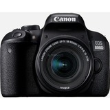 Canon EOS 800D + EF-S 18-55mm 4.0-5.6 IS STM Kit fotocamere SLR 24,2 MP CMOS 6000 x 4000 Pixel Nero, Fotocamera digitale Nero, 24,2 MP, 6000 x 4000 Pixel, CMOS, 10x, Full HD, Nero