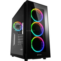 TG5 RGB Silent PCGH Edition Tower Nero, Chassis Tower
