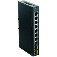 DIS 100G 10S switch di rete Gestito Gigabit Ethernet (10/100/1000) Nero, Interruttore