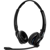 | SENNHEISER IMPACT MB Pro 2 UC ML Cuffia Padiglione auricolare Bluetooth Base di ricarica Nero, Headset