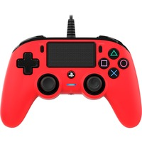 PS4OFCPADRED periferica di gioco Rosso Gamepad Analogico/Digitale PlayStation 4