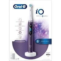 iO 80335729 spazzolino elettrico Adulto Spazzolino rotante Viola, Bianco, Spazzolino da denti elettrico