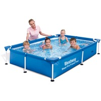 Steel Pro 56401 piscina fuori terra Piscina con bordi Piscina rettangolare 1200 L Blu