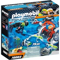 Top Agents 70003 set da gioco, Giochi di costruzione