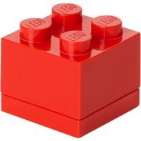 4011 Contenitore per il pranzo Polipropilene (PP) Rosso 1 pezzo(i), Scatola di immagazzinaggio