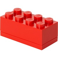 4012 Contenitore per il pranzo Polipropilene (PP) Rosso 1 pezzo(i), Scatola di immagazzinaggio