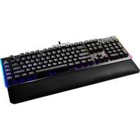 Z20 tastiera USB Tedesco Nero, Tastiera da gioco