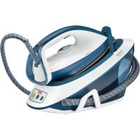 Liberty SV7030 ferro da stiro a caldaia 2200 W 1,5 L Ceramica Blu, Bianco, Stazione stirante
