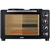 68885 cucina Piano cottura Ceramica Nero, Mini forno