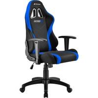 Skiller SGS2 Jr. Sedia per gaming universale Seduta imbottita Nero, Blu, Sedili di gioco