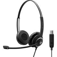 | SENNHEISER IMPACT SC 260 USB Cuffia Padiglione auricolare USB tipo A Nero, Headset
