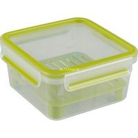 CLIP & GO XL Contenitore per il pranzo 1,3 L Verde, Trasparente 1 pezzo(i), Scatola di immagazzinaggio