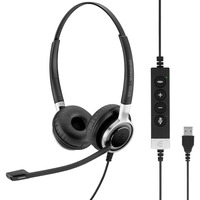 | SENNHEISER IMPACT SC 660 ANC USB Cuffia Padiglione auricolare USB tipo A Nero, Argento, Headset
