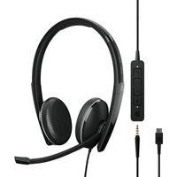 | SENNHEISER ADAPT 165 USB C II Cuffia Padiglione auricolare Connettore 3.5 mm USB tipo C Nero, Headset