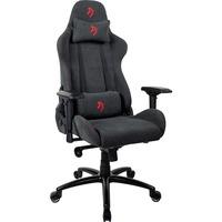 Image of Verona -SIG-SFB-RD sedia per videogioco Sedia da gaming per PC Sedia imbottita tappezzata Grigio, Rosso, Sedili di gioco