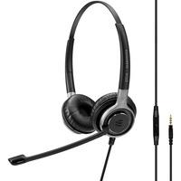 | SENNHEISER IMPACT SC 665 Cuffia Padiglione auricolare Connettore 3.5 mm Nero, Argento, Headset