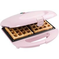 ASW401P piastra per waffle 2 waffle 700 W Rosa, Cialde