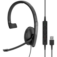 | SENNHEISER ADAPT 130 USB Cuffia Padiglione auricolare USB tipo A Nero, Headset