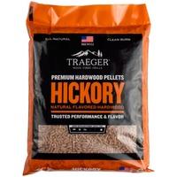 Pellets da legno Hickory naturale certificato FSC per barbecue a pellet 9 kg, Carburante