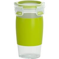 CLIP & GO Contenitore per il pranzo 0,45 L Plastica Verde, Trasparente 1 pezzo(i), Coppa