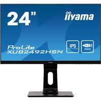 ProLite XUB2492HSN B1 monitor piatto per PC 60,5 cm (23.8) 1920 x 1080 Pixel Full HD LED Nero, Monitor L