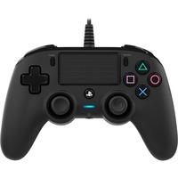 PS4OFCPADBLACK periferica di gioco Nero Gamepad Analogico/Digitale PlayStation 4