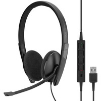 | SENNHEISER ADAPT 160 USB Cuffia Padiglione auricolare USB tipo A Nero, Headset