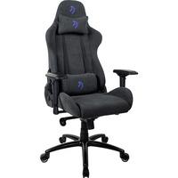 Image of Verona -SIG-SFB-BL sedia per videogioco Sedia da gaming per PC Sedia imbottita tappezzata Blu, Grigio, Sedili di gioco