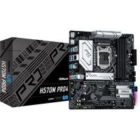 H570M Pro4 Intel H570 LGA 1200 micro ATX, Scheda madre