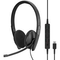 | SENNHEISER ADAPT 160 USB C Cuffia Padiglione auricolare USB tipo C Nero, Headset
