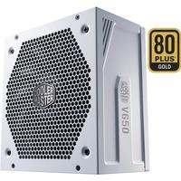 Image of V650 Gold-V2 White Edition alimentatore per computer 650 W 24-pin ATX ATX Bianco, Alimentatore PC