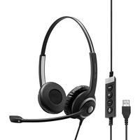 | SENNHEISER IMPACT SC 260 USB MS II Cuffia Padiglione auricolare USB tipo A Nero, Headset