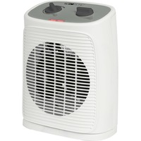 HL 3762 Interno Grigio, Bianco 2000 W Riscaldatore ambiente elettrico con ventilatore, Termoventilatore