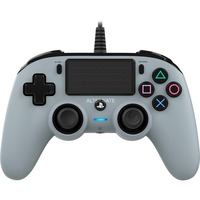 PS4OFCPADGREY periferica di gioco Grigio Gamepad Analogico/Digitale PlayStation 4