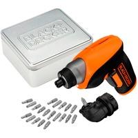 CS3652LCAT QW cacciavite elettrico e avvitatore a impulso 180 Giri/min Nero, Arancione