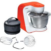 Image of MUM54I00 sbattitore Sbattitore con base 900 W Arancione, Acciaio inossidabile, Bianco, Robot da cucina