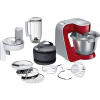 MUM58720 robot da cucina 1000 W 3,9 L Grigio, Rosso, Acciaio inossidabile