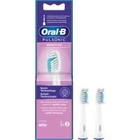 Sensitive 80334588 testina per spazzolino 2 pz Bianco