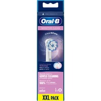 Sensitive Clean 80339548 testina per spazzolino 8 pz Bianco