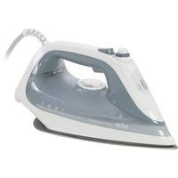 TexStyle 7 Pro Ferro a vapore Eloxal 2800 W Argento, Bianco, Ferro da stiro