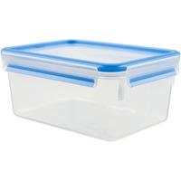 CLIP & CLOSE Rettangolare Scatola 2,3 L Blu, Trasparente 1 pezzo(i), Casella
