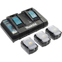 198458 6 batteria e caricabatteria per utensili elettrici Set batteria e caricabatterie