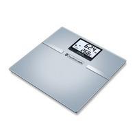 SBF 70 Quadrato Argento Bilancia pesapersone elettronica, Scala