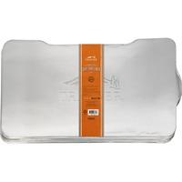 Coprileccarda in alluminio per BBQ Ironwood 885 5 pz, Vaschetta raccogligocce