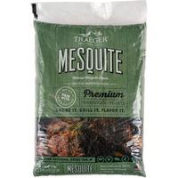 Pellets da legno Mesquite naturale al 100% per barbecue a pellet 9 kg, Carburante