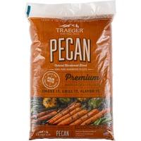 Pellets da legno di Pecan naturale al 100% per barbecue a pellet 9 kg, Carburante