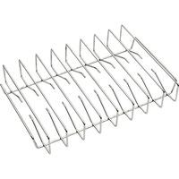 Rack in acciaio inossidabile per costine alla griglia, Piano griglia