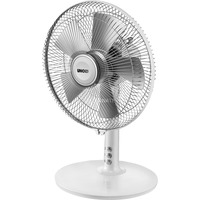 86810 Ventilatore domestico con pale 25W Argento, Bianco ventilatore