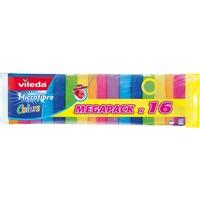 152874 Strofinaccio Poliammide, Poliestere Multicolore 16 pezzo(i), Panni per la pulizia