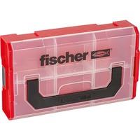FIXtainer Armadietto portaoggetti Rettangolare Nero, Rosso, Trasparente, Scatola di immagazzinaggio